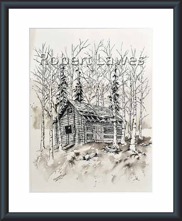 Cabin in the Birches